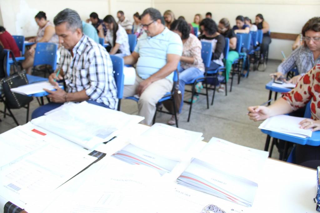 Mais de 500 educadores participaram da prova no último domingo