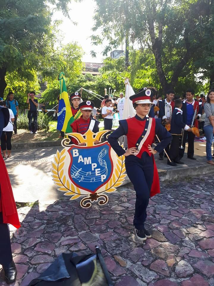 Banda Marcial da Escola Estadual Senador Petrônio Portella comemora ... acedf758ee2