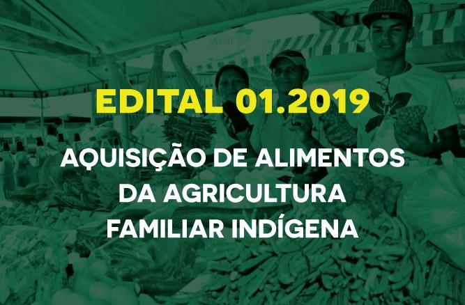 Edital 01/2019